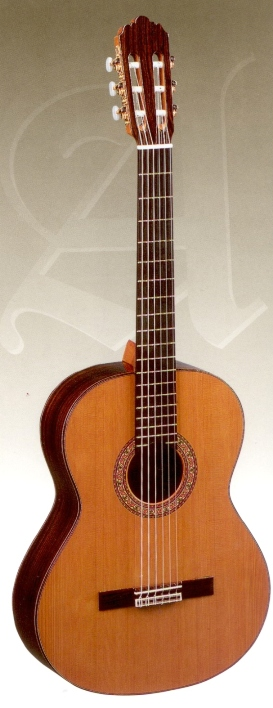 Alhambra 4P Classical Guitar (cedar top pictured)