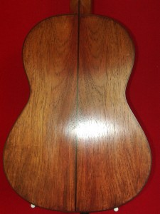 Back (Solomon Islands Rosewood)