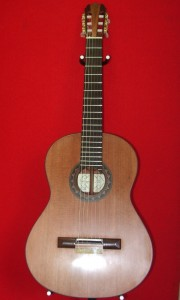 Capper Classical Guitar (Sequoia Top)