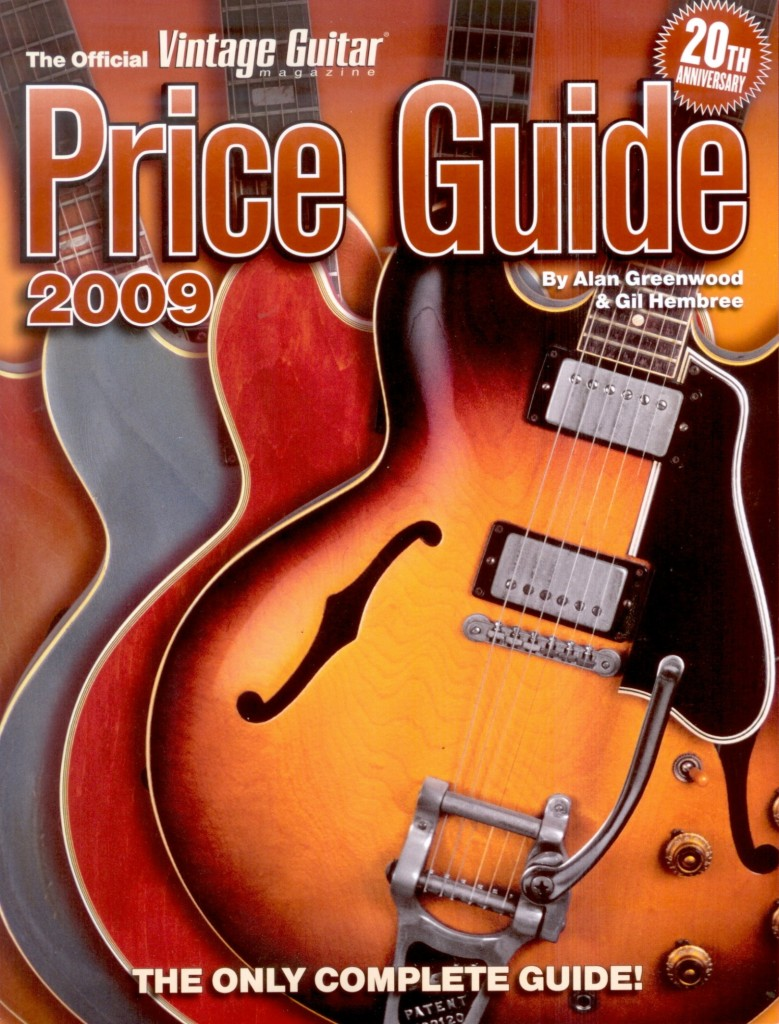 Vintage Guitar Magazine Price Guide 2009 (code 332377-$58.95)