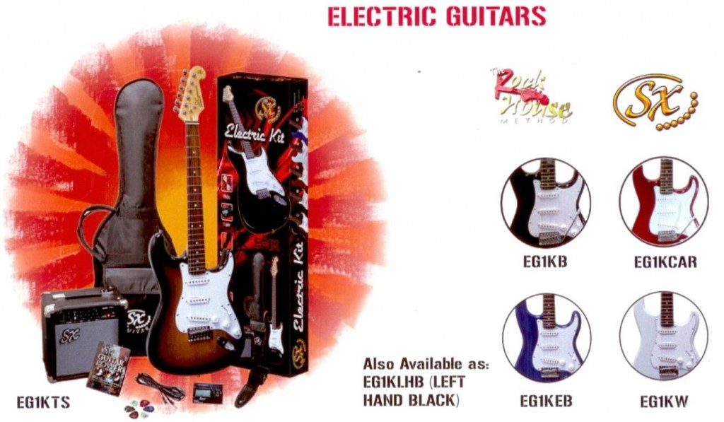 Essex Electric Guitar & Amp Pack $299