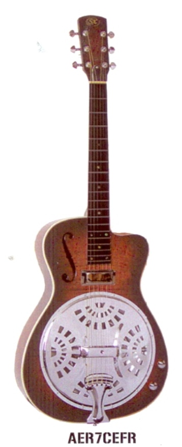 Essex Resonator Guitar with Pickup $499