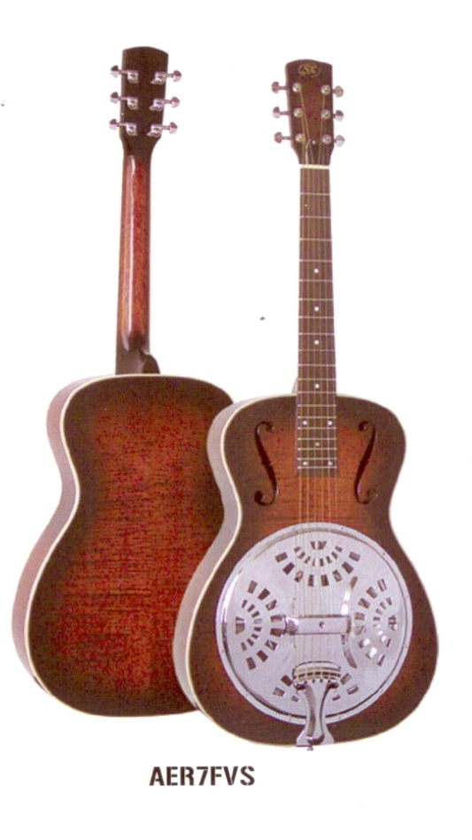 Essex Resonator Guitar AER7VS $399