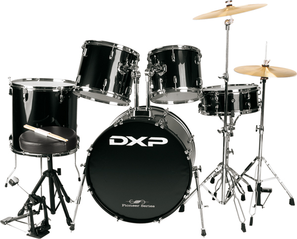 DXP Drum Kit in Black