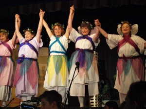 Cooma Harmony Chorus performing in the Gilbert & Sullivan Extravaganza 2013