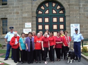 Cooma Harmony Chorus brings some christmas cheer and carols to Cooma Prison
