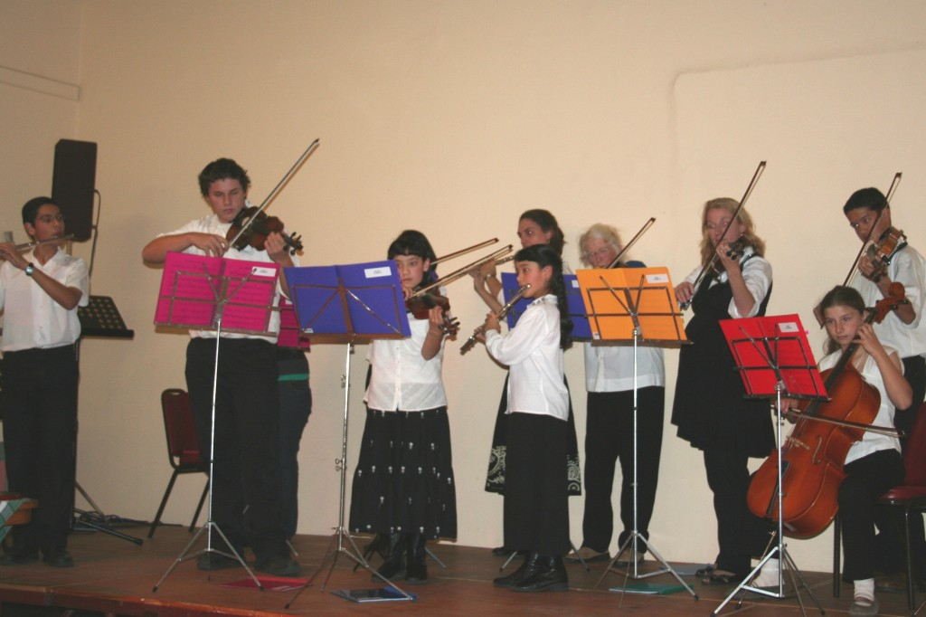 """POA"" performing at Cooma Music Competition 2008"