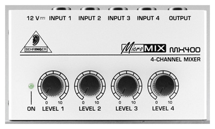 Behringer MICROMIX MX400 ($59.99)