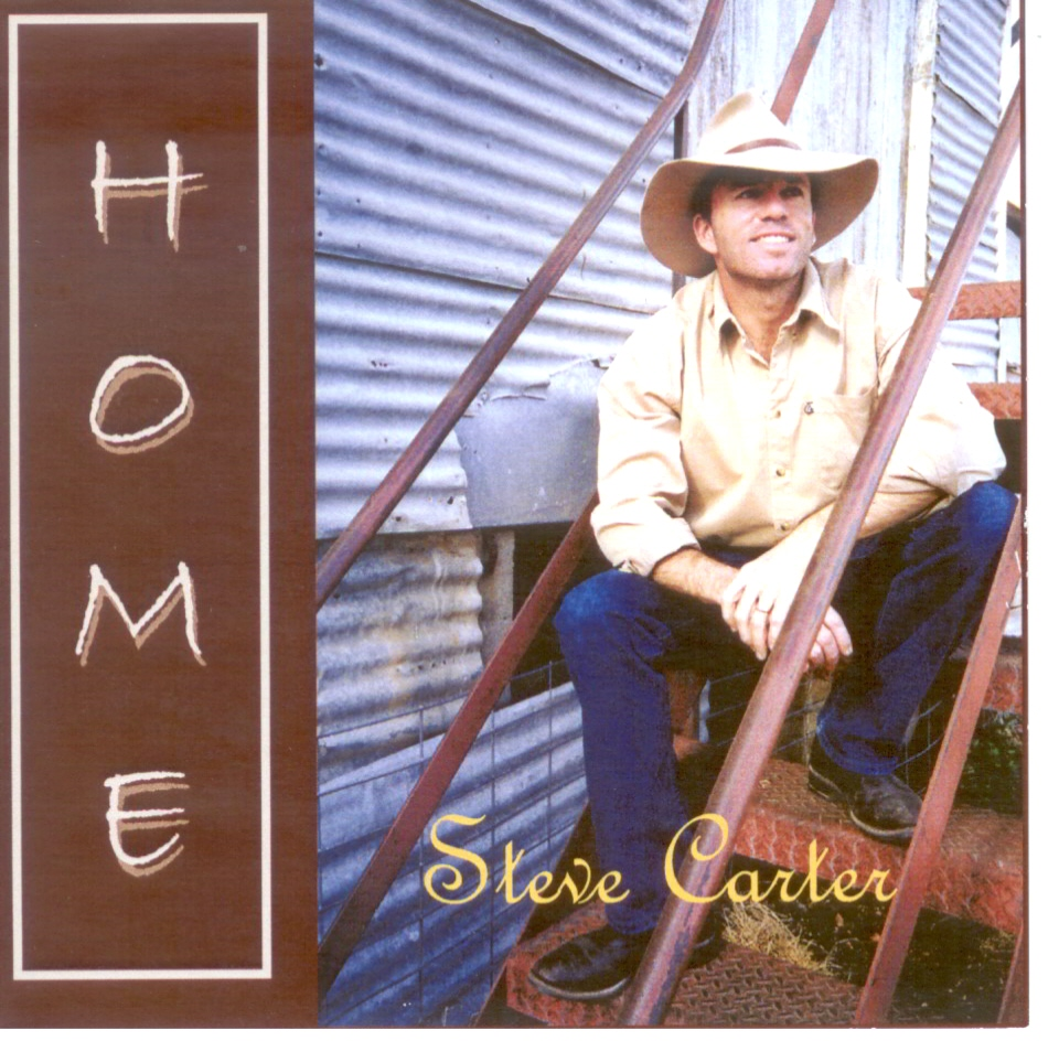 "Steve Carter-""Home"" CD now available ($15)"