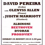 2010 David Pereira & Friends - August