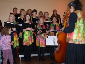 Cooma Harmony Chorus in fine voice