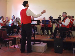 Cooma District Band under the direction of Chris Wall