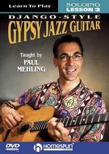 Code: HL00641705 Paul Mehling Learn to Play Django-Style Gypsy Jazz Guitar $39.99