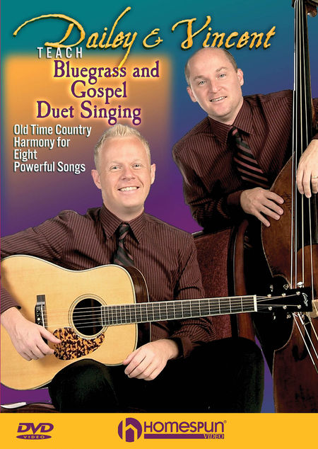 Code: HL00642088 -Dailey & Vincent Teach Bluegrass and Gospel Duet Singing  $39.99