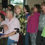 cooma harmony chorus sang for the bushdance 02