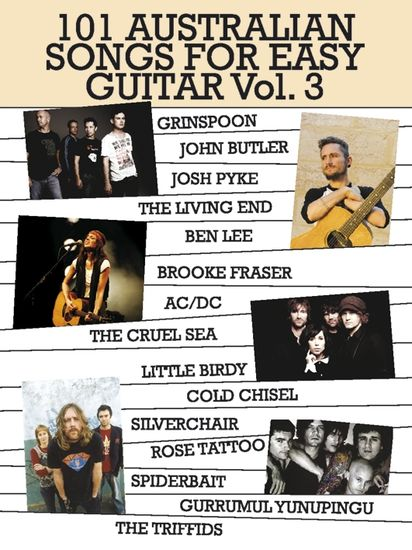 101 Australian Songs For Easy Guitar Vol 3 36 99