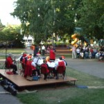 Cooma District Band carols in park 02