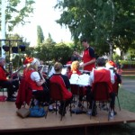 Cooma District Band carols in park