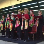 Cooma Harmony Chorus singing carols in the park 01