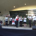 Salvation Army perform for Carols in the Park