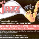 free jazz in the park