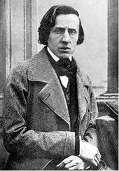 Frédéric Chopin - born 1810, Photo by Bisson, 1849, the year of Chopin's death