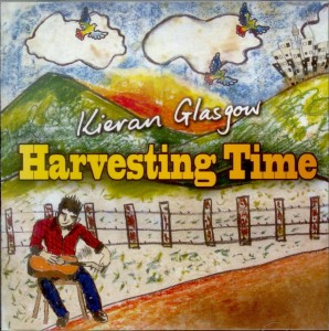 "Kieran Glasgow's latest CD ""Harvest Time"""
