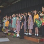 Combined School Choir at the Multi-Function Centre
