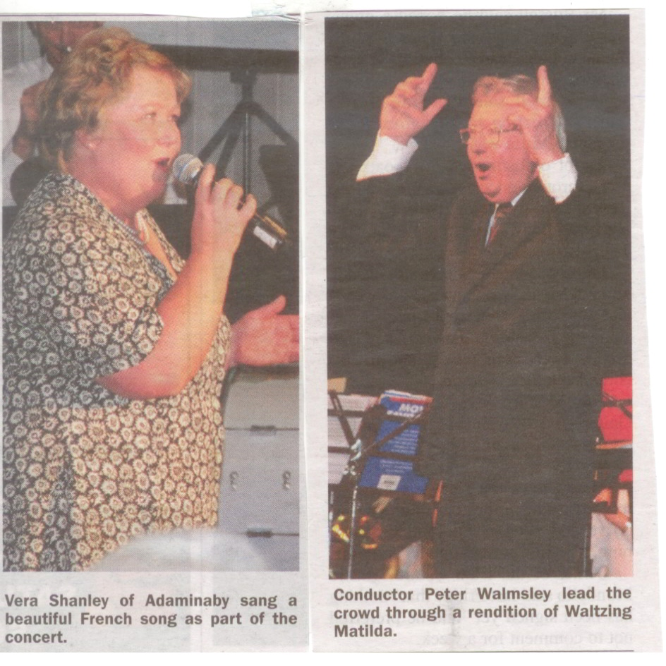 from Cooma-Monaro Express, Tuesday 27 April 2010