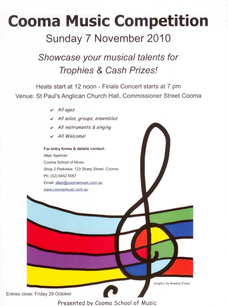 COOMA MUSIC COMP 2010 001