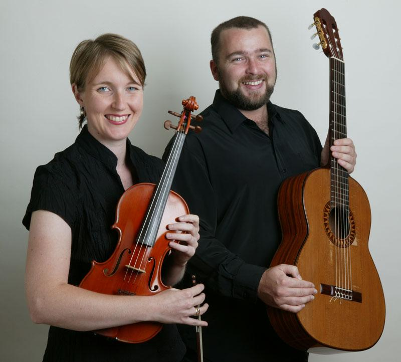 Judy Hickel (Violin) and John Couch (Guitar)