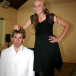 MARK & MIRANDA - WHO'S TALLER NOW!