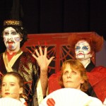 Mikado_David Learoyd as Mikado with Judy Gibson as Katisha