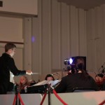 Rodney Clancy conducts the G&S Orchestra