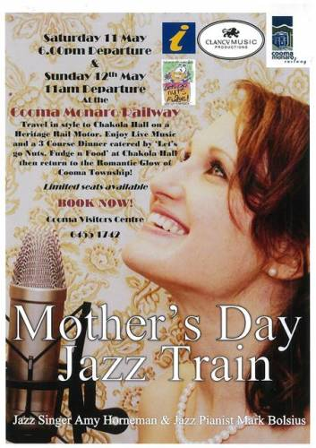 mather's day jazz train 2013