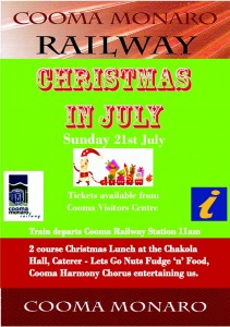 Christmas in July Poster (2)