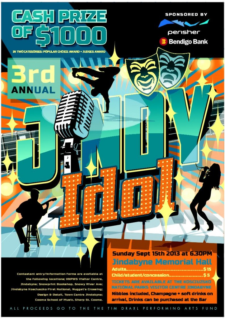 Jindy Idol 2013 poster