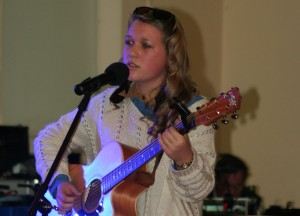 Vendulka Wichta performing at the 2012 Cooma Music Competition