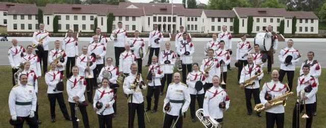 ROYAL MILITARY COLLEGE DUNTROON BAND