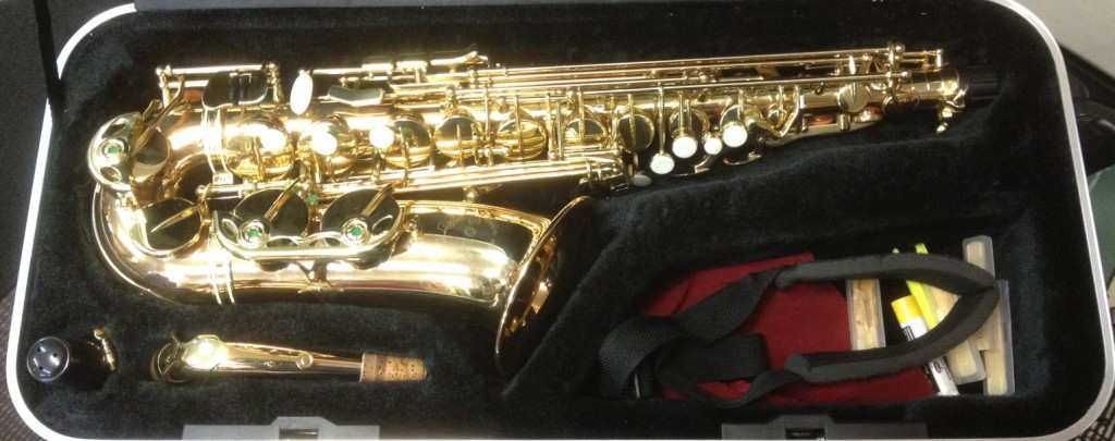 01 Solo Alto Sax - excellent condition