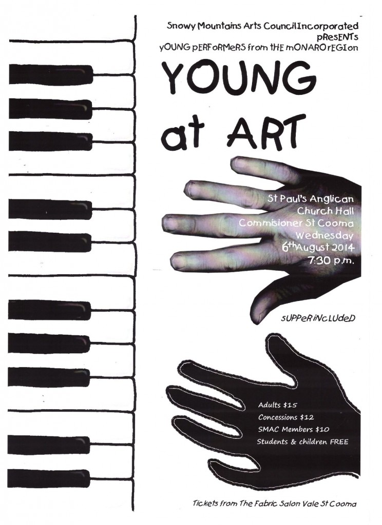 YOUNG AT ART 2014 POSTER 001