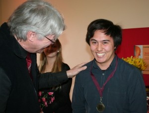 Kai Bakker, won the Solo Piano Secondary Heat plus the Peter de Jager Piano Prize