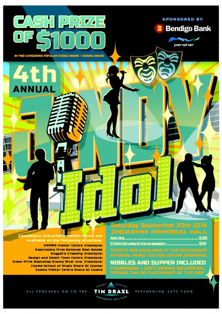 jindy idol 2014 poster