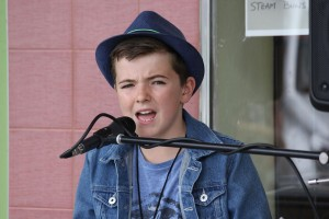 Harry Cleverdon came from Young to become the Australian National Busking Champion - primary section