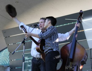 Cannonball Express competing at the Australian National Busking Championships