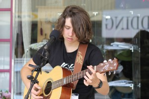 Josh Maynard (from Cowra) was awarded Australian National Busking Champion-secondary section