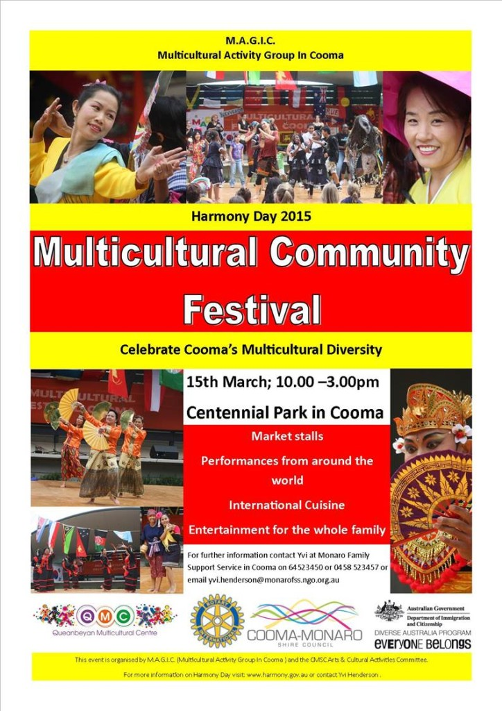 COOMA MULTICULTURAL FESTIVAL