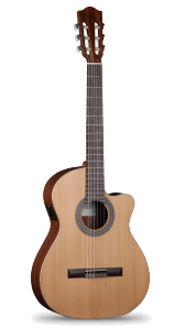 Alhambra model Z with cutaway and pickup $769