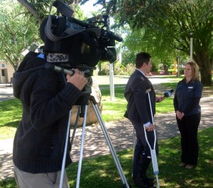 WIN News coverage of the ANBC 2014
