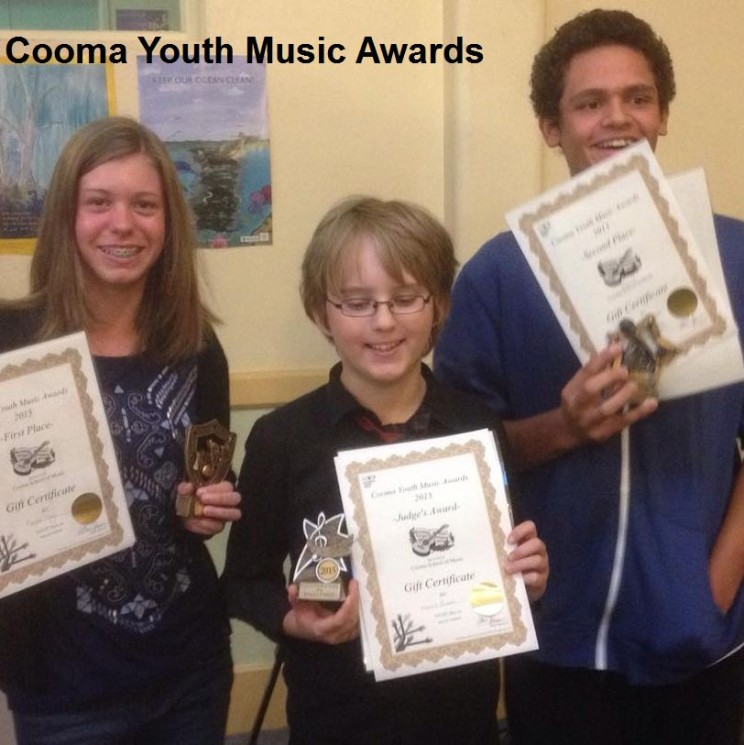 Cooma Youth Music Awards 2015 Winners